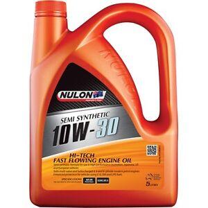 Nulon-Semi-Synthetic-Hi-Tech-Fast-Flowing-Engine-Oil-10W-30-5-Litre
