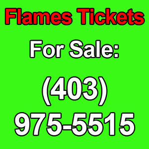 Calgary Flames vs OILERS CANUCKS JETS COYOTES - 2ND LEVEL