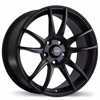"17"" Wheels Fast pathogen Matte Black pour voitures Honda Civic A"