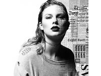 1x Taylor Swift Ticket Reputation Tour 22nd June Wembley 2018