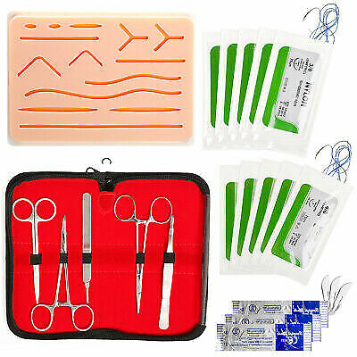 Surgical Suture Practice Kit Suture Practice Pad For Medical Students