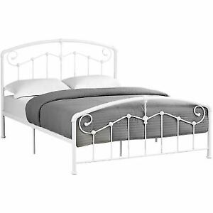 Queen bed 700.00 almost brand new frame included