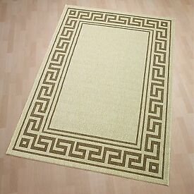 NATURA - High Quality - LARGE BEIGE RUG 230x170cm - As New