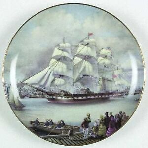VINTAGE CLIPPER SHIPS PLATE COLLECTION