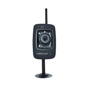 Used Foscam FI8909W Indoor IP Wireless/Wired Security Camera