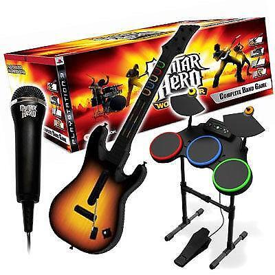 guitar hero drums ps3 ebay. Black Bedroom Furniture Sets. Home Design Ideas