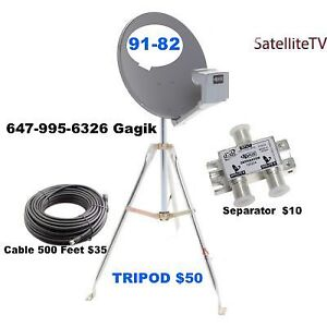 Cable RG6 CAT 5E CAT 6 & Satellite TV Mounting and Installation