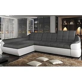 Corner Sofa Bed with Storage Container.