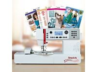 Simplicity sewing and embroidery machine new