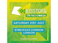 X1 Kisstory on the Common ticket
