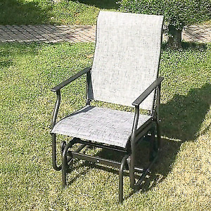 Corriveau One Seater outside Glider/Rocking chair