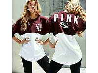 longsleeve burgundy top