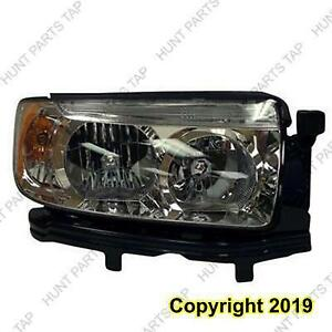 Headlight Passenger Side High Quality Subaru Forester 2006-2008