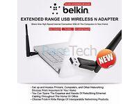* BRAND NEW * Belkin N300 USB Wifi Adapter F9L1004AZ