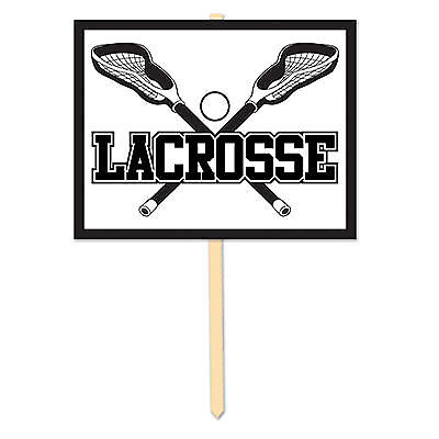 Lacrosse Yard Sign - Lacrosse Decorations