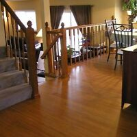 Hardwood and laminate flooring installation renovation