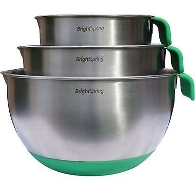NESTING MIXING BOWLS ARE A MUST