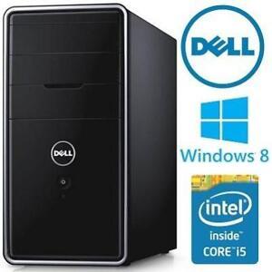 REFURB DELL INSPIRON DESKTOP PC - 119332878 - INTEL CORE i5 4460 12GB RAM 2TB HDD WINDOWS 8 COMPUTER