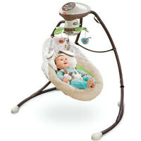 My Little Snugabunny Cradle 'N' Swing