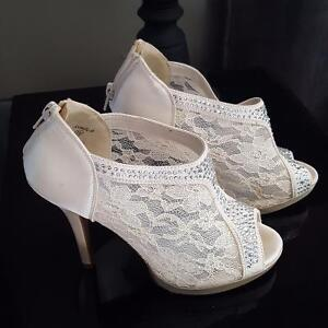 Wedding Shoes and After Wedding shoes too! - Size 7.5 - NEW Cambridge Kitchener Area image 1