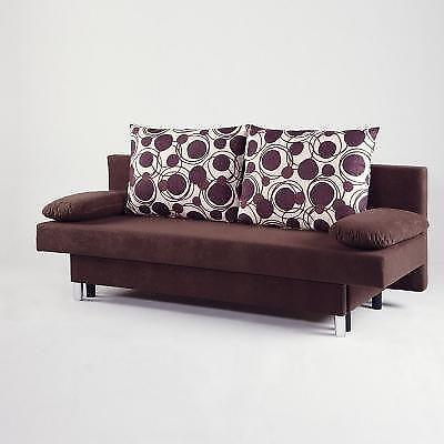 schlafsofa 2 sitzer sofas sessel ebay. Black Bedroom Furniture Sets. Home Design Ideas