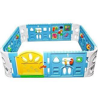 Baby interactive playpen