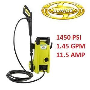 USED SUN JOE PRESSURE WASHER 1450 PSI 109824368