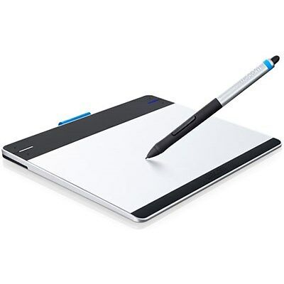 Wacom Intuos Pen & Touch Tablet Small Includes Valuable Software Refurbished