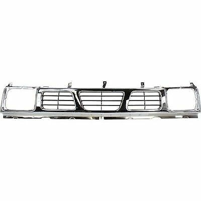 Nissan Pickup Grille Assembly - for 1993 - 1997 Nissan Pickup Grille Assembly - 1996 1995 1994