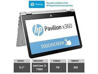 "OFFERS HP Laptop touch screen 13"" 8gb ram 1TB memory"