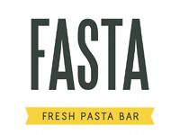 Delivery Guy, Fasta Fresh Pasta Bar in Muswell Hill