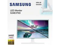 "24"" SAMSUNG 1080p LED Monitor with smartphone wireless charging"