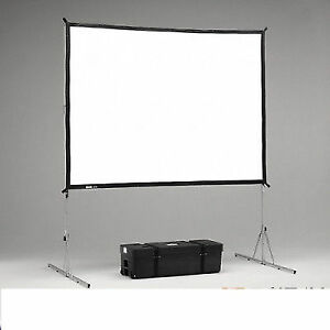 Da-Lite 7.5 x 10 FastFold Projection Screen w/ Drape kit