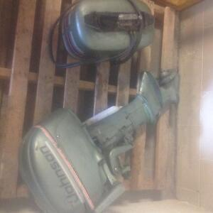 PRICED to SELL! 10hp 1952 Johnson Outboard