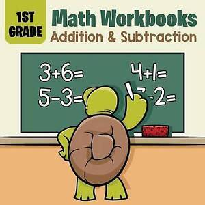 1st Grade Math Workbooks: Addition & Subtraction by Professor, Baby -Paperback