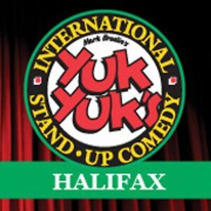 Four tickets to yuk yuks halifax
