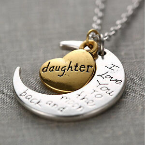 I love you to the moon and back necklaces. Windsor Region Ontario image 3