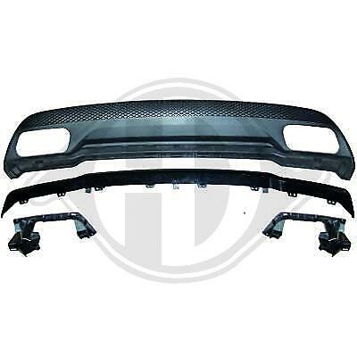 Heckdiffusor Diffusor Stoßst. Hinten für Mercedes W176 13- -oo---oo- A45 Opt.