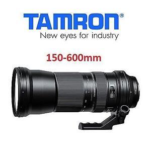 OB TAMRON 150-600MM CAMERA LENS AFA011C700 197493109 F/5-6.3 VC USD Di Lens for Canon, Black OPEN BOX