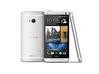 NEW UNLOCKED HTC ONE M7 32GB SILVER IN COLOUR