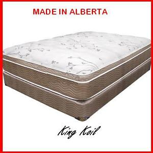 Queen Euro-Top Mattress Set on Sale @Yvonne's Furniture Edmonton