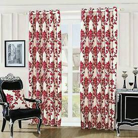 luxuryfully lined eyelet curtains
