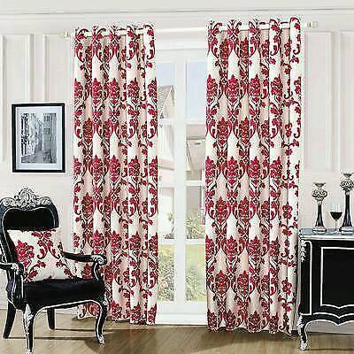 luxuryfully lined eyelet curtains