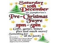 Pre-Christmas Fayre