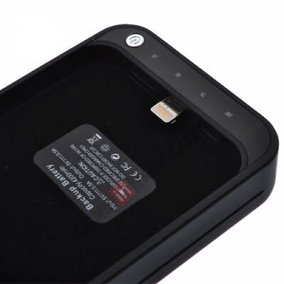 Rechargeable iPhone case