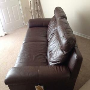 Luxury Genuine Leather reclining couch NEW London Ontario image 3