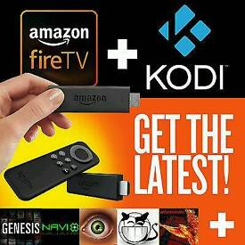 Amazon Fire Stick with Kodi 16.1 Fully-Loaded✔️Sports✔️Movies✔️TV✔️Kids✔️