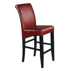 Red Finish 30 inches Parsons Barstool. Brand New in Box  Retail
