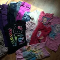Loot of girls clothing
