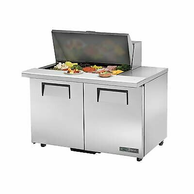 True Tssu-48-15m-b-ada-hc 48 Mega Top Sandwich Salad Unit Refrigerated Counte